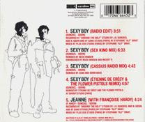 Sexy Boy back cover